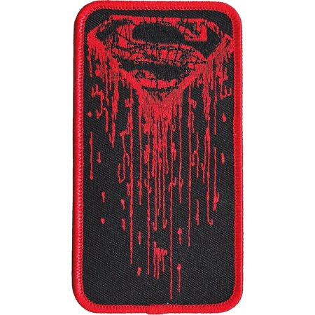 Patch - DC Comic - Batman - Drippy Logo Iron On Gifts Toys New p-dc-0054 - image 1 of 1