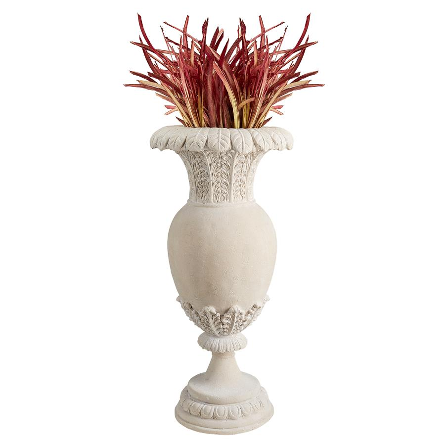 Versailles Floral Oviform Urn by Designt Toscano
