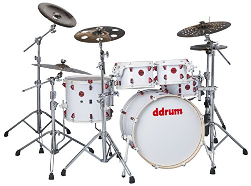 ddrum HYBRID 5 PLAYER WHT -Piece Drum Shell Pack by ddrum