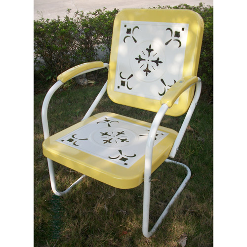 Retro Outdoor Chair, Multiple Colors