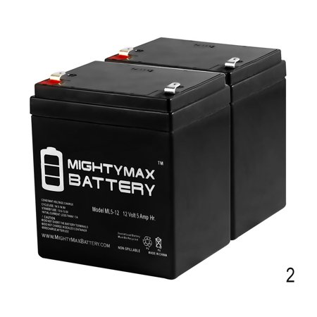ML5-12 - 12V 5AH Battery for Razor E100 E125 E150 E175 Electric Scooter - 2 -