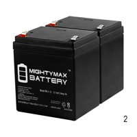 12V 5AH SLA Battery Replacement for GS Portalac PE12V5F1 - 2 Pack