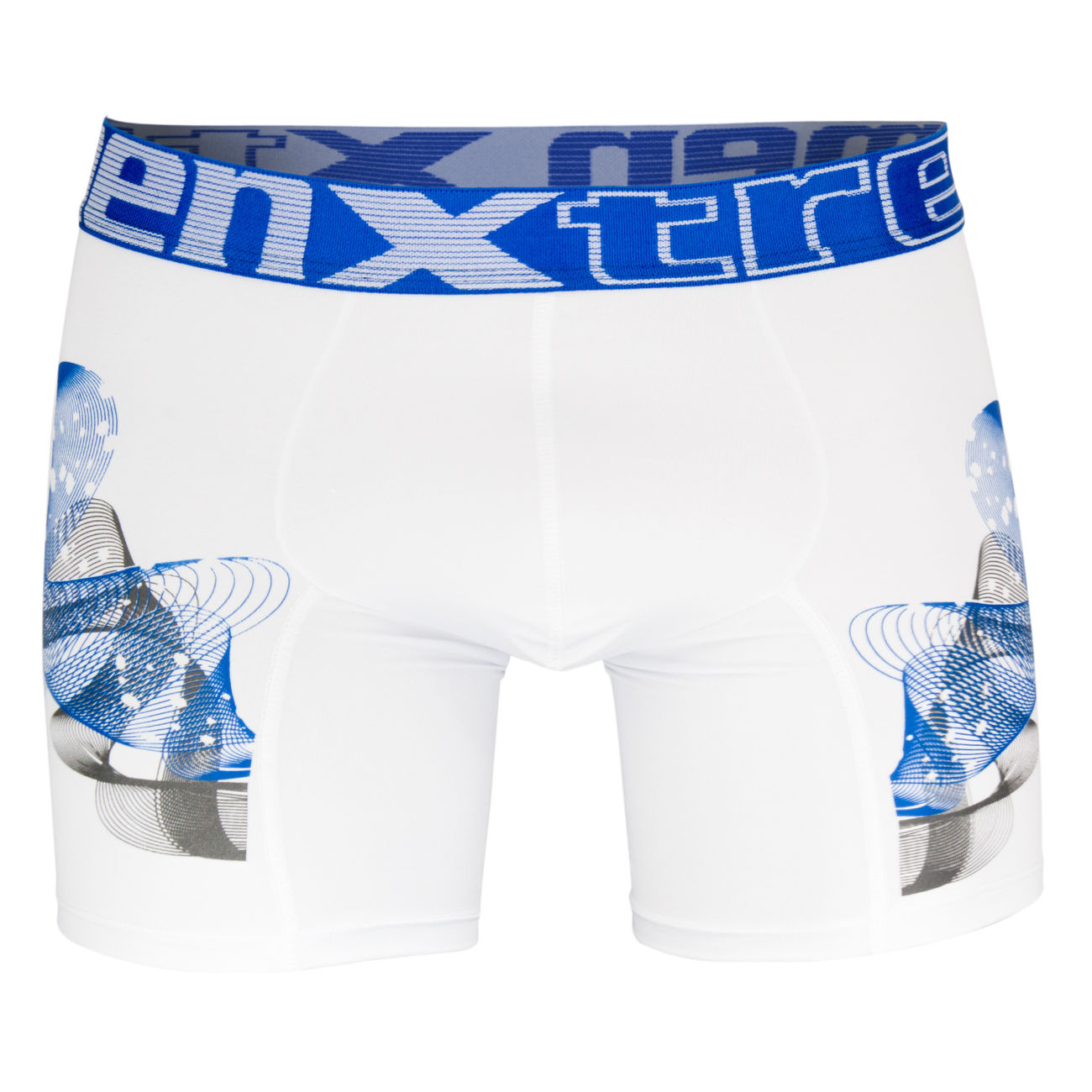 Black Xtremen Sports Junior Boxer Graffic Boy/'s Underwear