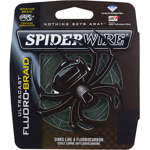 SpiderWire Ultracast Fluoro-Braid Fishing Line