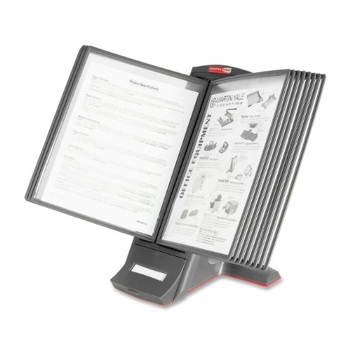 Master Masterview Modular Desktop Stand - 12 Panels - 2 S...