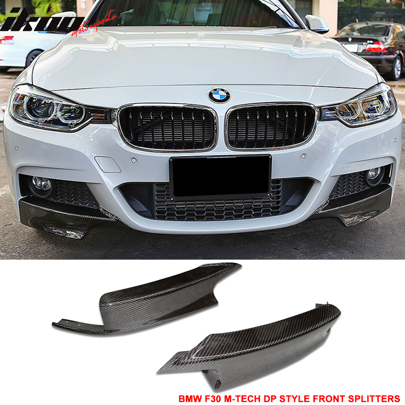 Carbon Fiber Side Mirror Covers Fit BMW F30 3-Series 320i 328i 335i Sedan 12-16