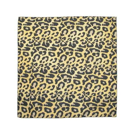 CTM®  Womens Cotton Leopard Print Bandanas,