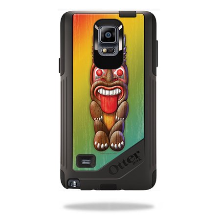 Skin For OtterBox Commuter Samsung Galaxy Note 4 – Tiki Man | MightySkins Protective, Durable, and Unique Vinyl Decal wrap cover | Easy To Apply, Remove, and Change Styles | Made in the USA - Tiki Man