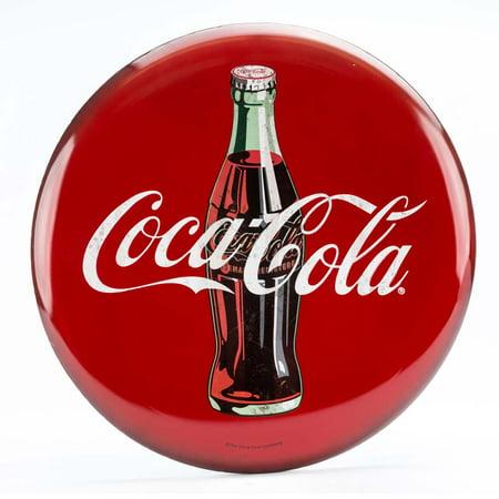 Coca-Cola 24 inch Metal Button (Captain And Coke)