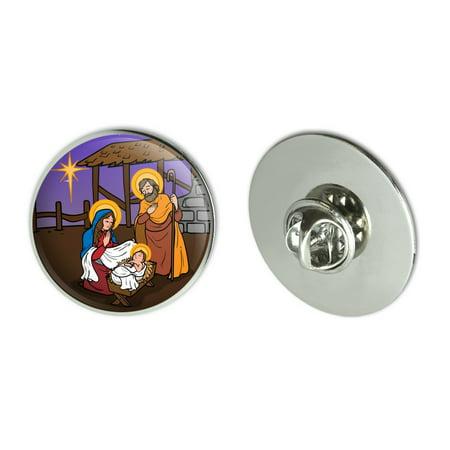 - Nativity Scene Baby Jesus Mary Joseph Christmas Christian Bible Metal 1.1