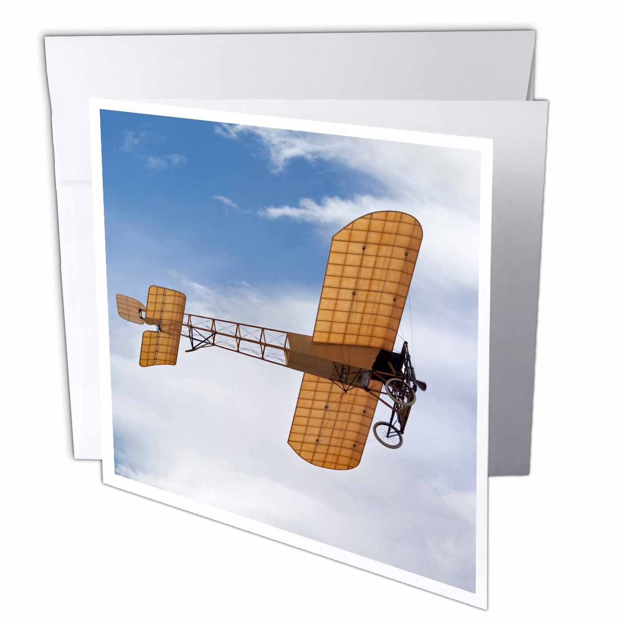 3dRose New Zealand, Warbirds Over Wanaka, Vintage Airplanes-AU02 DWA5957 - David Wall, Greeting Cards, 6 x 6 inches, set of 6