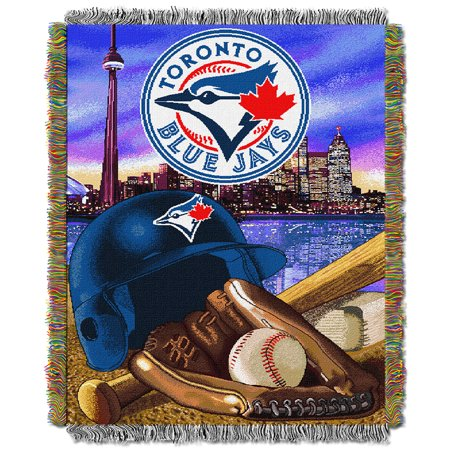 Toronto Blue Jays MLB Woven Tapestry Throw (Home Field Advantage) (48
