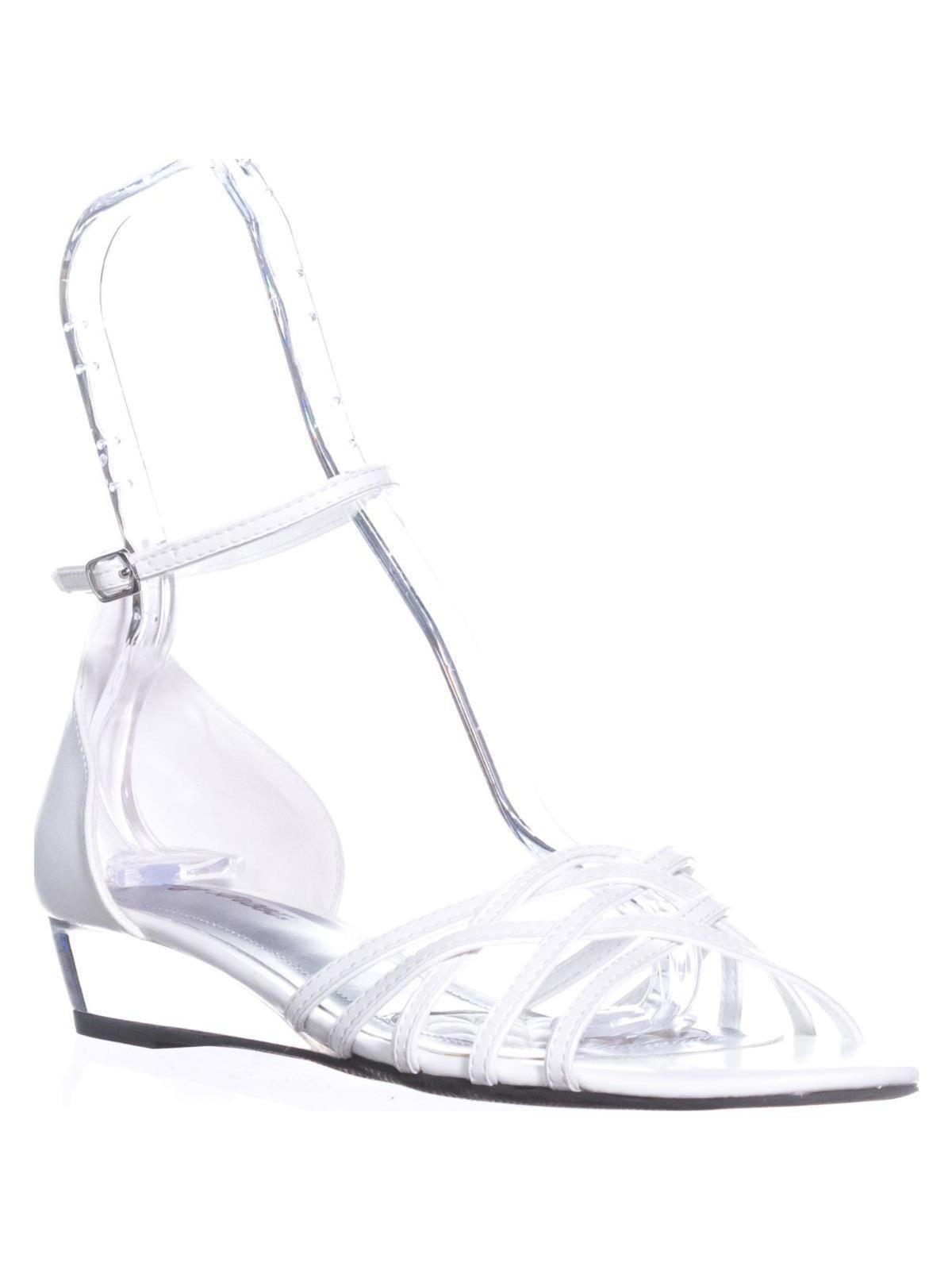 1f01403e8fa74 Easy Street - Womens Easy Street Tarrah Ankle Strap Wedge Sandals ...