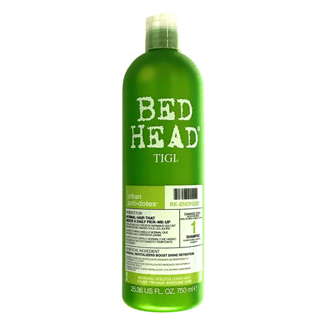 Tigi Bed Head Re-Energize Strengthening, Shine-Enhancing Shampoo 25.36 Oz