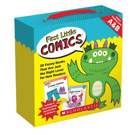 First Little Comics Parent Pack: Levels C & D : 20 Funny Books That Are Just the Right Level for New Readers