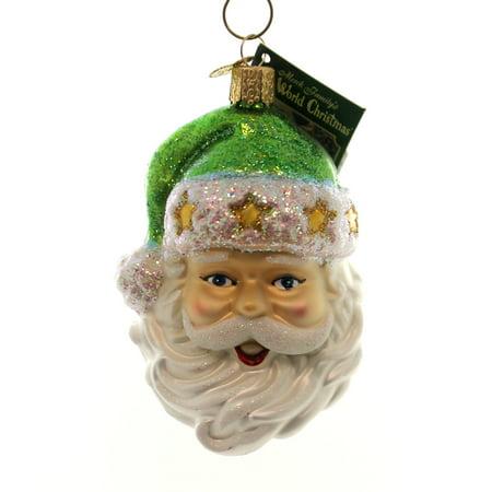 Old World Christmas FASHION SANTA Glass Ornament - Old Fashioned Christmas Ornaments