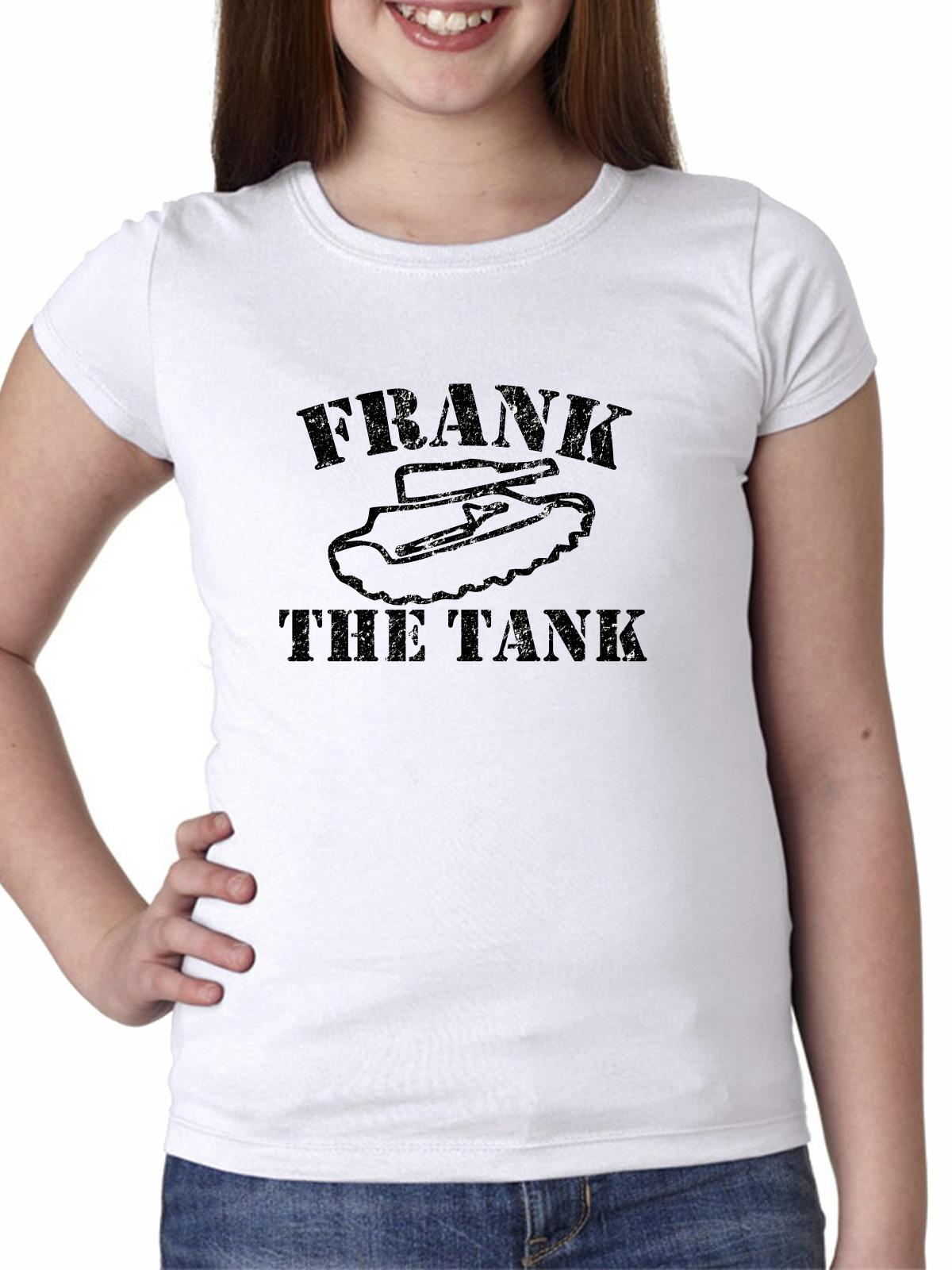 Frank the Tank Funny Graphic Girl's Cotton Youth T-Shirt
