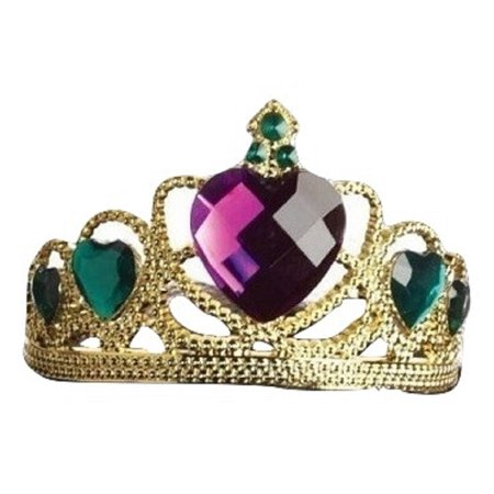 Mardi Gras Heart Gold Tiara Queen Crown Headpiece St. Patricks Day Accessory](Crown Queen Of Hearts)