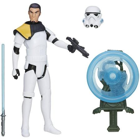 Star Wars Rebels Kanan Jarrus (Stormtrooper Disguise) Figure - Star Wars Rebel Blaster