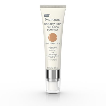 Neutrogena Healthy Skin Anti-Aging Perfector Spf 20, Retinol Treatment, 50 Tan To Medium, 1 Fl. (Trish Mcevoy Treatment Foundation)