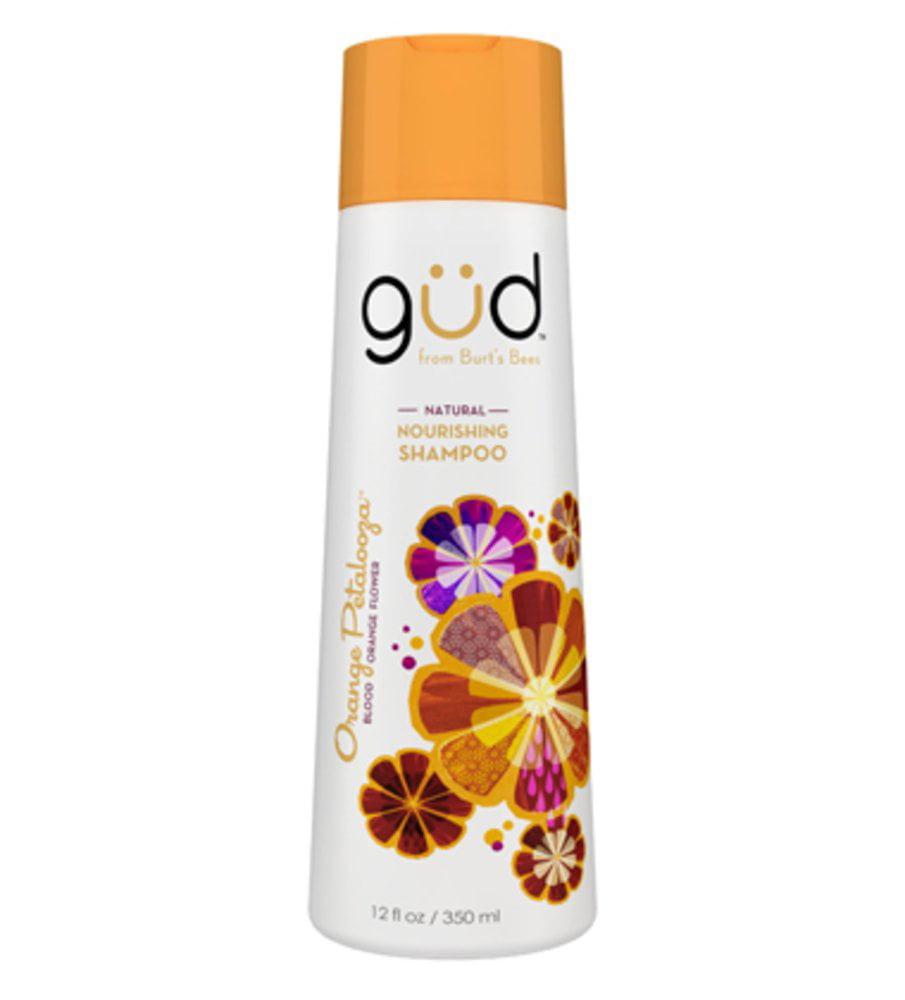 Gud Natural Nourishing Shampoo Orange Petalooza, 12.0 FL OZ