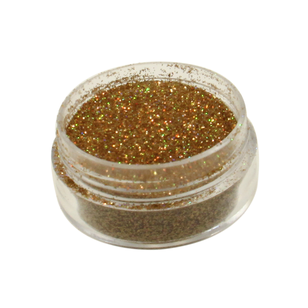 Diamond FX Polyester Glitter - Red Gold (5 gm)