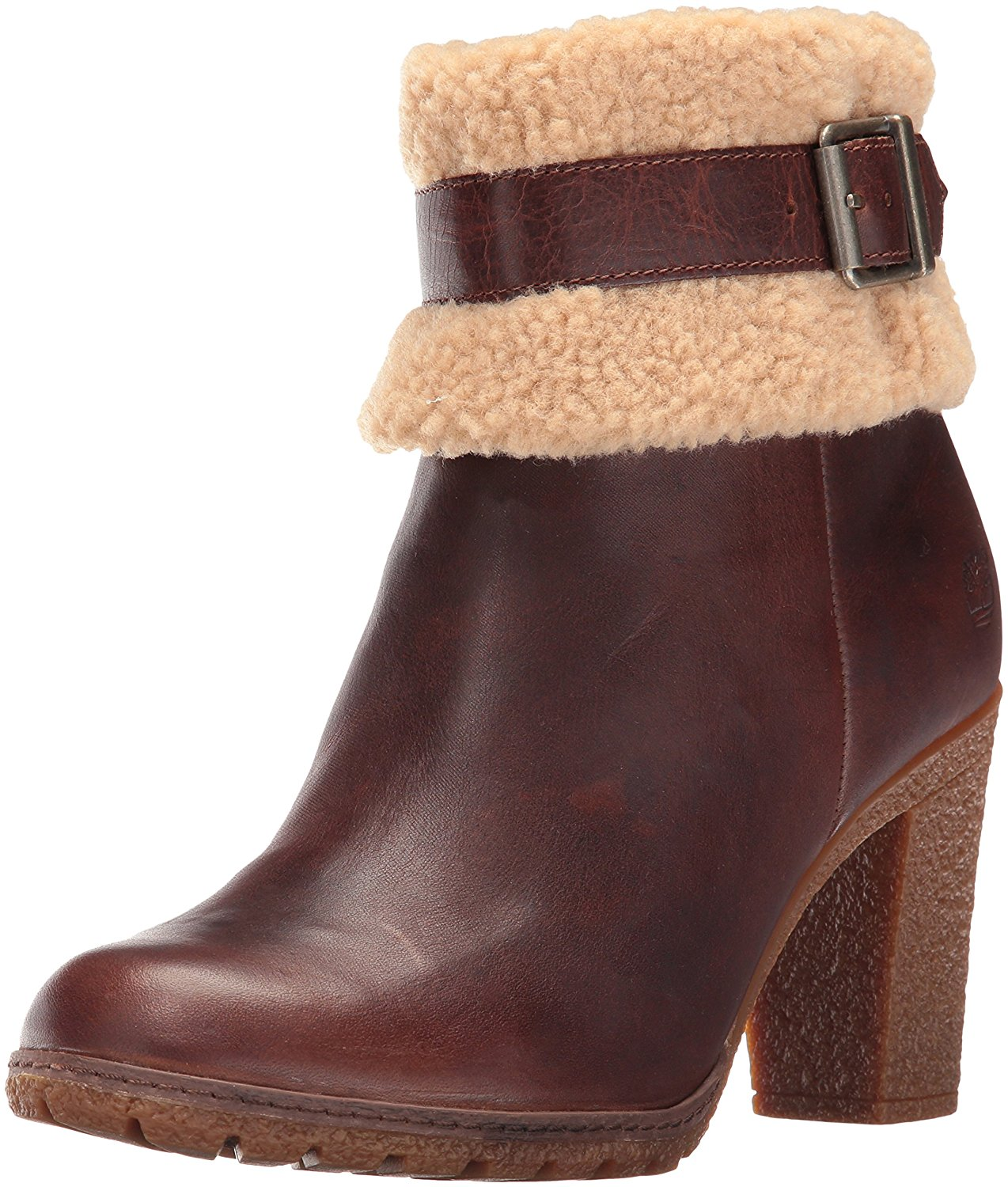 Timberland Women's Glancy Teddy Fleece Fold Down Boot by