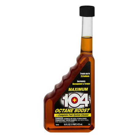 16 Boost - 104 (10410) Maximum Octane Boost, 16 fl oz
