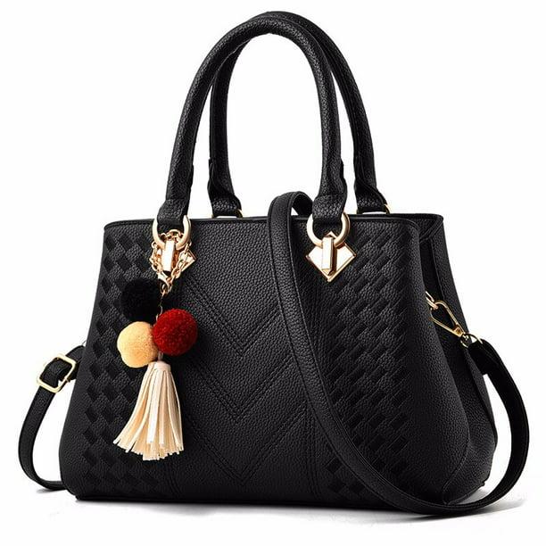 Handbags Women Bags Women's Shoulder Bag Leather Ladies Hand Bags Female  Crossbody Bags Tote Handbag - Walmart.com - Walmart.com