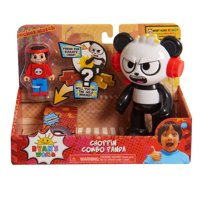 Ryan's World Choppin Combo Panda Action Fig