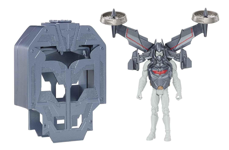 Batman The Dark Knight Rises QuickTek Flight Strike Batman Figure, USA, Brand Mattel by