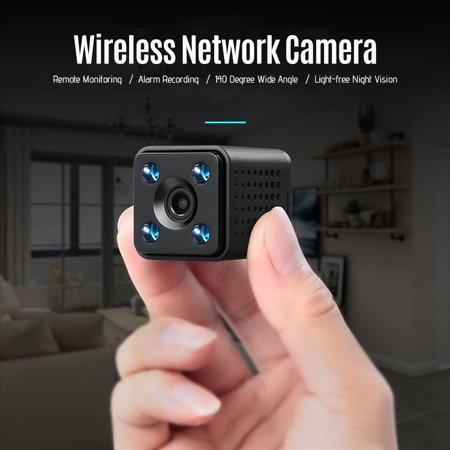 - Mini WiFi Camera Wireless DVR Nanny Cam Security Camera with Motion Detection Night Vision HD 1080P IP Video Recorder with Mobile Live View for Android iPhone