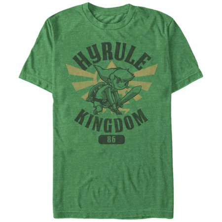 Legend Of Zelda- Hyrule Kingdom 87 Apparel T-Shirt - Green