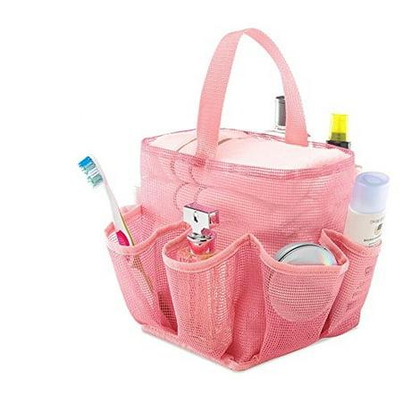 Zober Mesh Shower Caddy Organizer Tote For Bathroom Dorm And Gym Bag