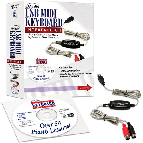 eMedia USB MIDI Keyboard Interface Kit by Emedia