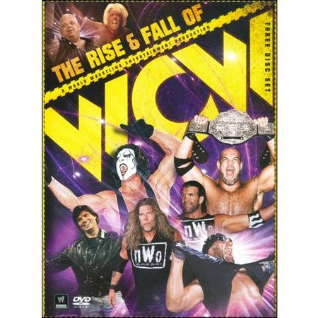 Warner Brothers Wwe Rise And Fall Of The Wcw Dvd Std Ff