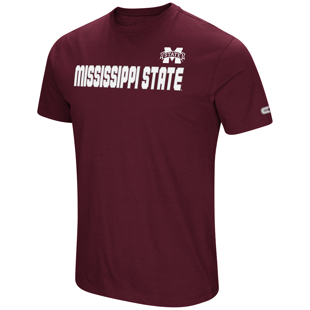 """Mississippi State Bulldogs NCAA """"Water Boy"""" Men's Dual Blend S/S T-Shirt"""