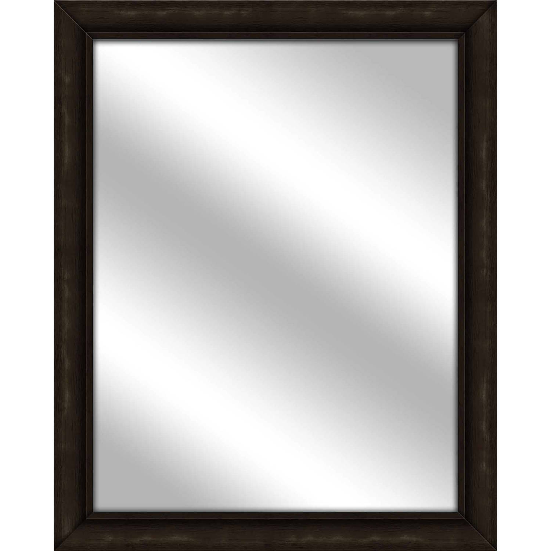 Vanity Mirror, Brown, 25.5x31.5 by PTM Images