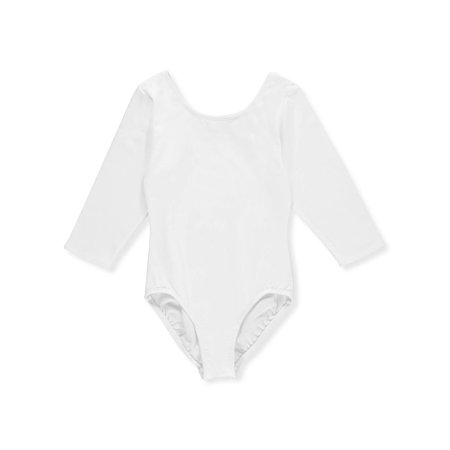 - Marilyn Taylor Girls' 3/4 Sleeve Dancewear Leotard