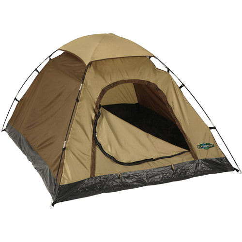 "Stansport Adventure Tent 5'6""x6'6""x43"" Green, 2155-15 by Stansport"