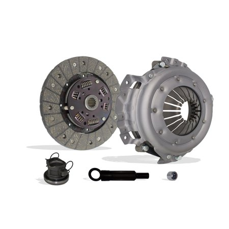 Clutch Kit Works With Jeep Tj Wrangler Cherokee Base Se Rio Grande S Sport Utility 2-Door 1994-2002 2.5L 150Cu. In. l4 GAS OHV Naturally Aspirated (4 CylindersL4, 2.5L)