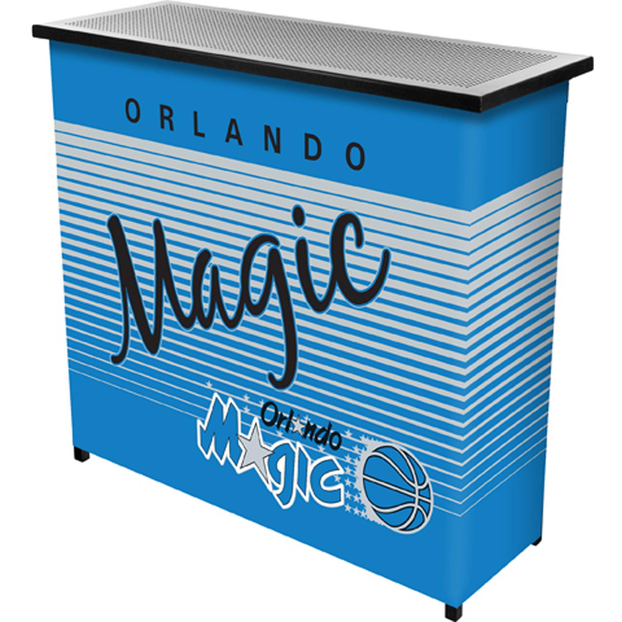Orlando Magic Hardwood Classics NBA Portable Bar with Carrying Case