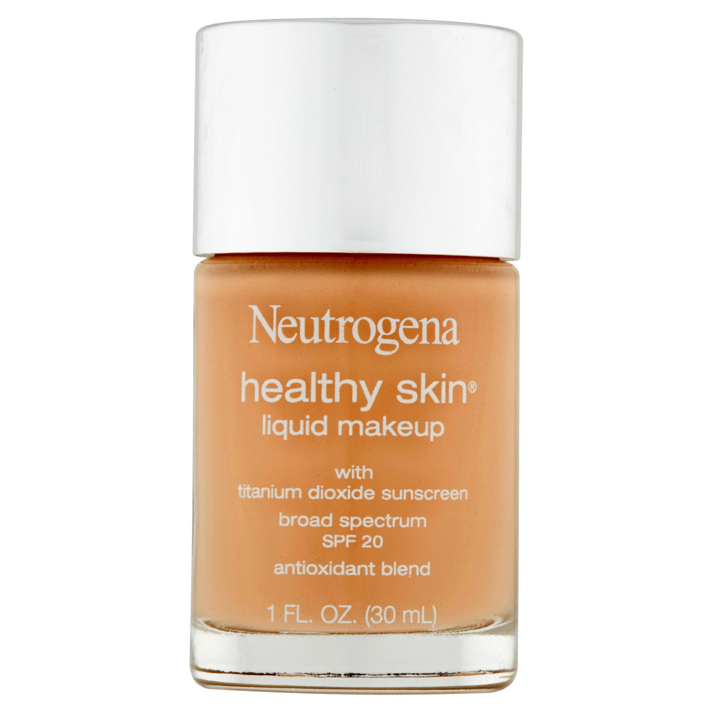 Neutrogena Healthy Skin Liquid Makeup Foundation, Broad Spectrum Spf 20, 10 Classic Ivory, 1 Oz.