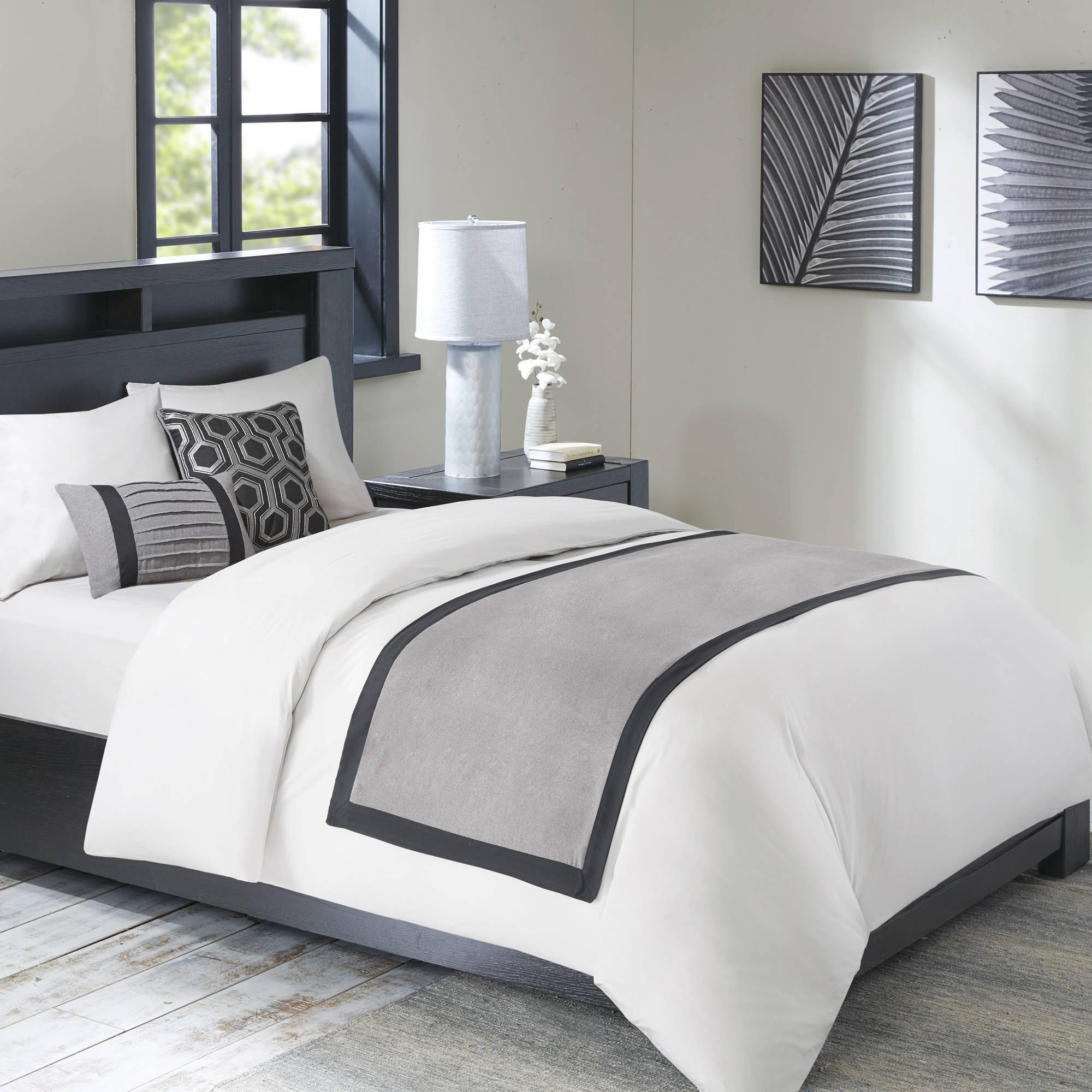 Home Essence Parker Bedscarf and Pillow Set