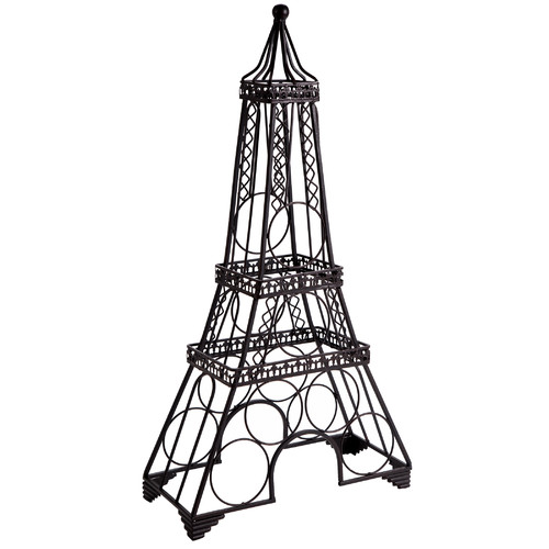 Home Essentials and Beyond Eiffel Tower 6 Bottle Wine Rack