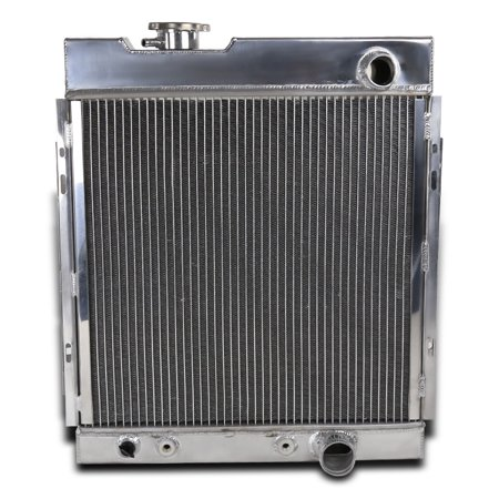 - Spec-D Tuning 1964-1966 Ford Mustang Shelby V8 3 Core Mt Aluminum Cooling Radiator 1964 1965 1966
