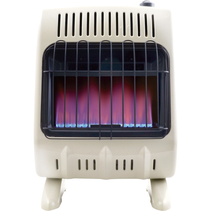 Mr.Heater 20,000K BTU Vent Free Propane Heater with Blue Flame + Mr.Heater Fan Blower for even heat