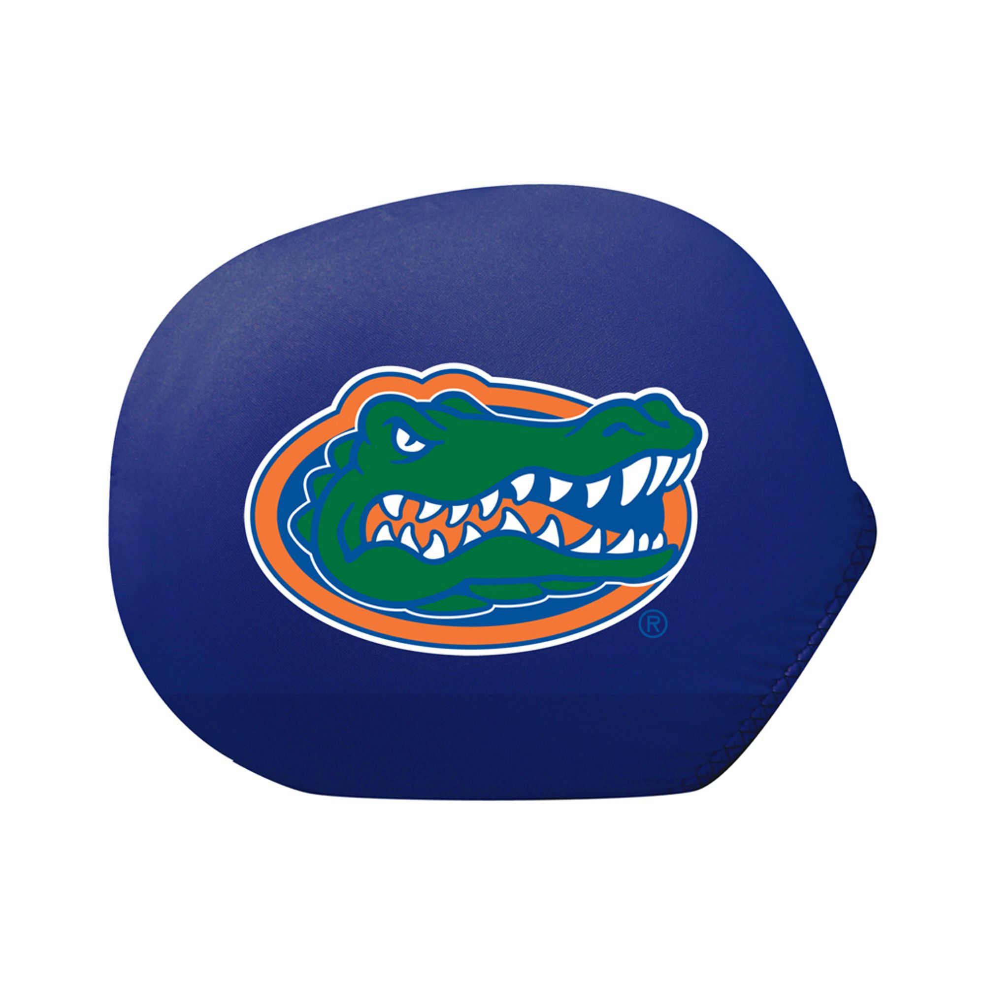 Collegiate Mirror Cover Florida (Standard) (Ultra durable 4-way stretch material, Weather resistant)