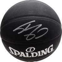 Shaquille O'Neal Los Angeles Lakers Autographed Spalding Black Indoor/Outdoor Basketball - Fanatics Authentic Certified
