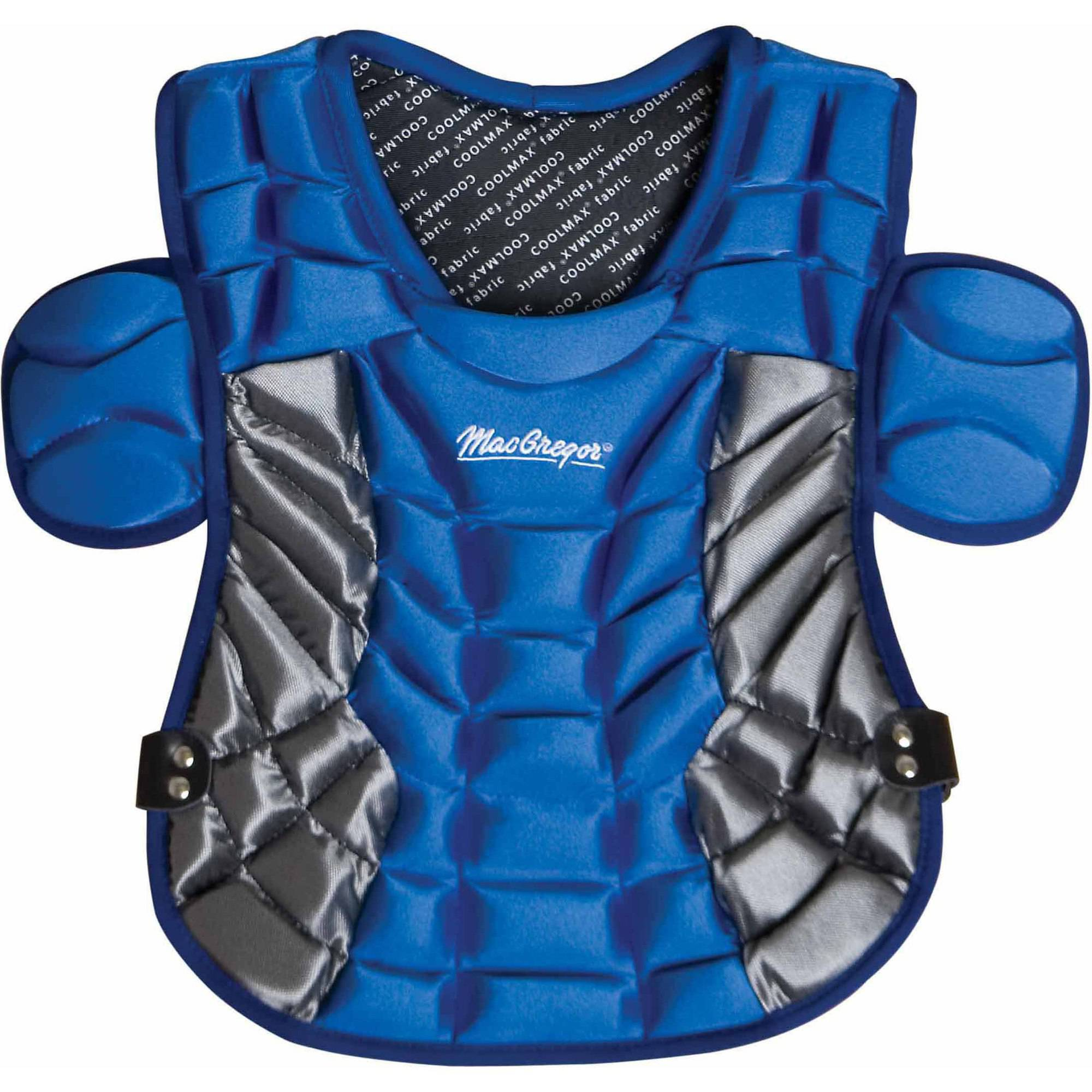 MacGregor Varsity Chest Protector, Royal